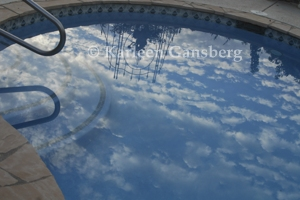 cloud reflections -© Karleen Gansberg